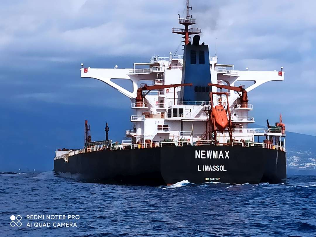 Newmax – my new old ship.